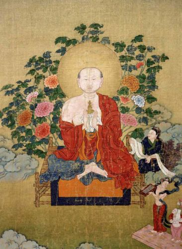 第十世噶瑪巴確英多傑 羅漢畫