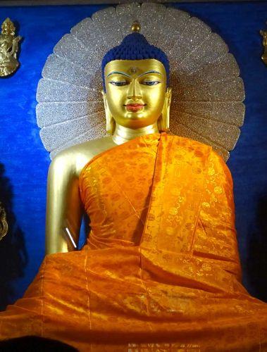菩提迦耶正覺大佛塔所釋尊聖像