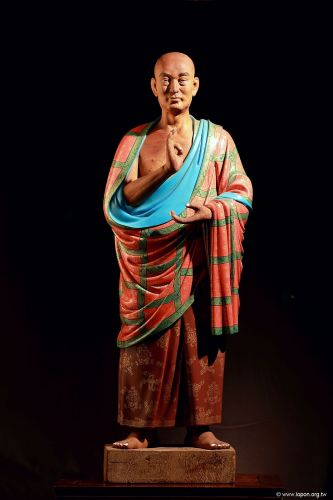 洛本木雕—噶瑪寺十六阿羅漢 第十三尊 半托迦尊者
